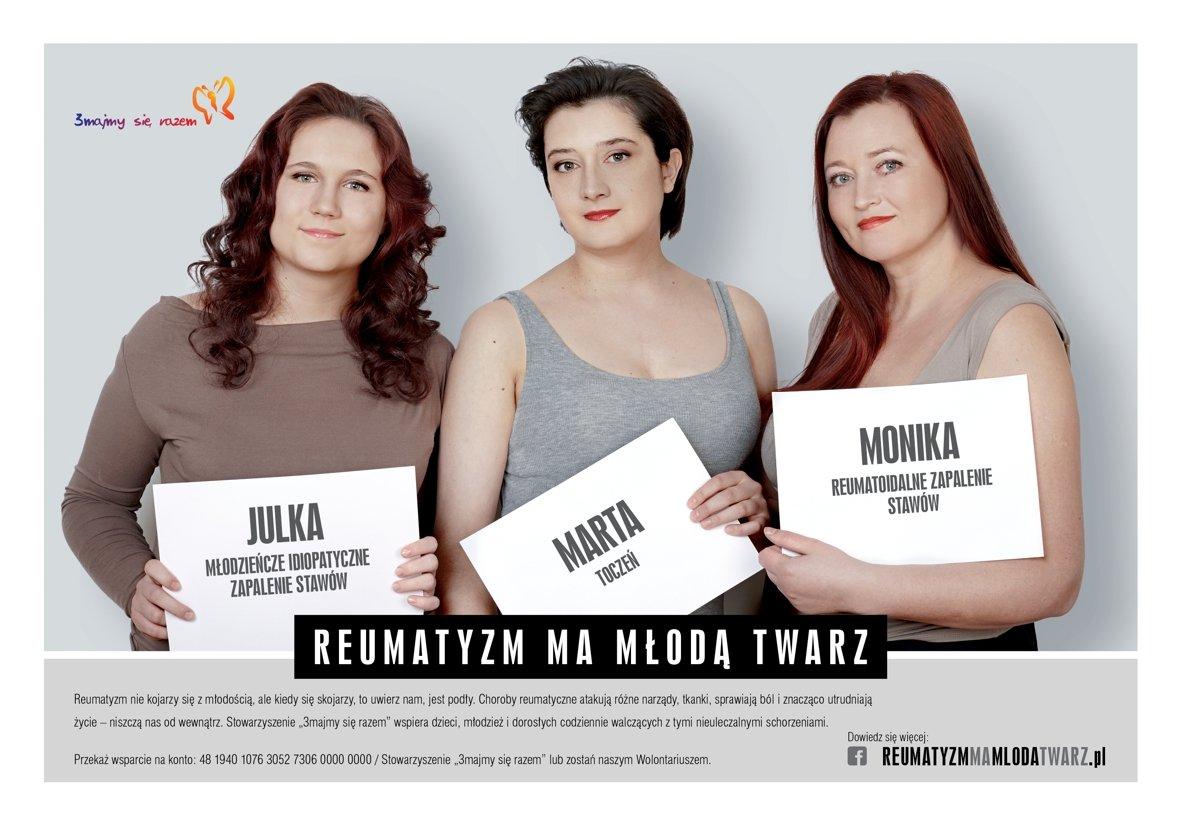 Reumatyzm ma młodą twarz - kampania społeczna